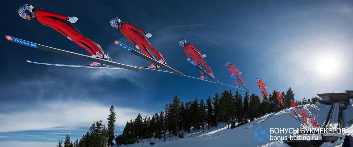 Прыжки на лыжах с трамплина стили