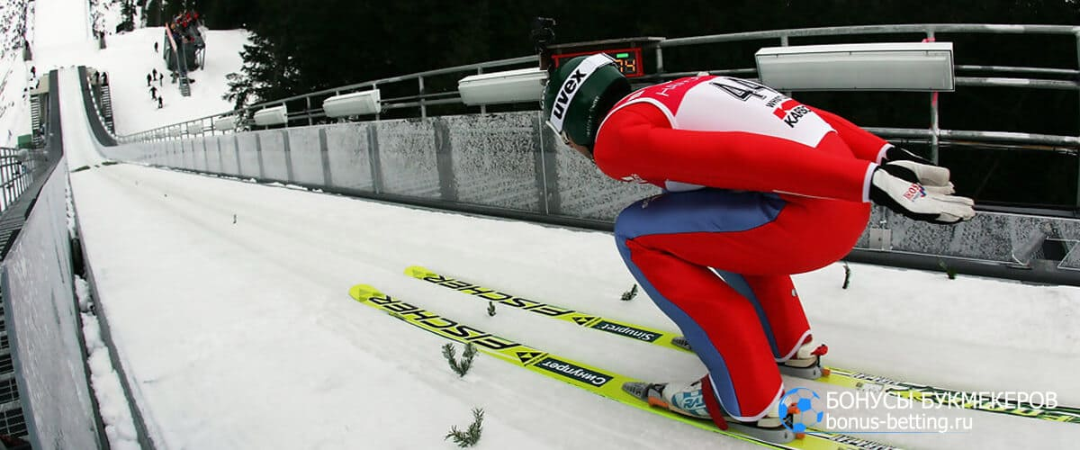 Прыжки на лыжах с трамплина оценки