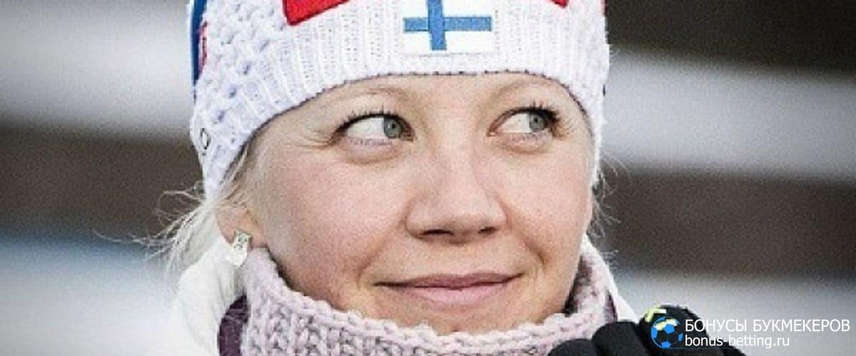 Кайса Мякяряйнен завершила карберу биатлонистки