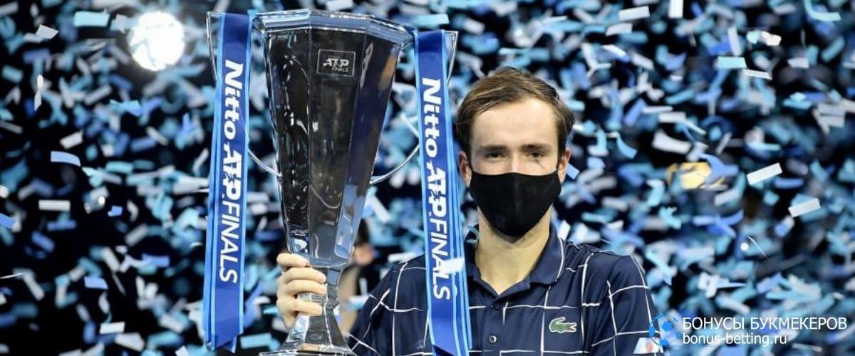 Медведев выиграл Итоговый турнир 2020