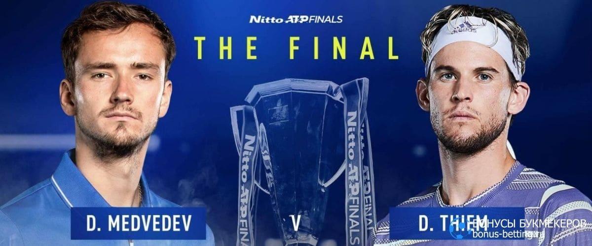 Даниил Медведев выиграл ATP Finals 2020