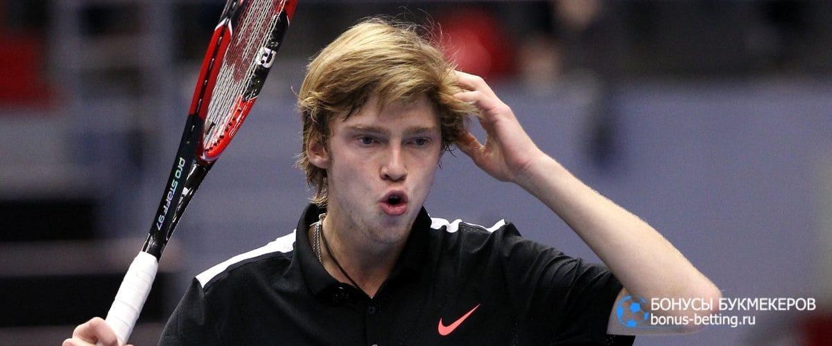 Рублев займет место Федерера