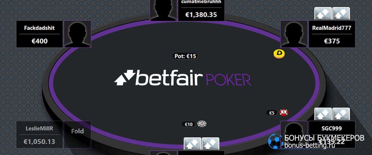 Betfair poker играть