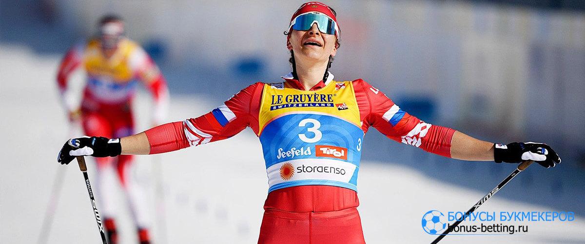 лыжные гонки россия
