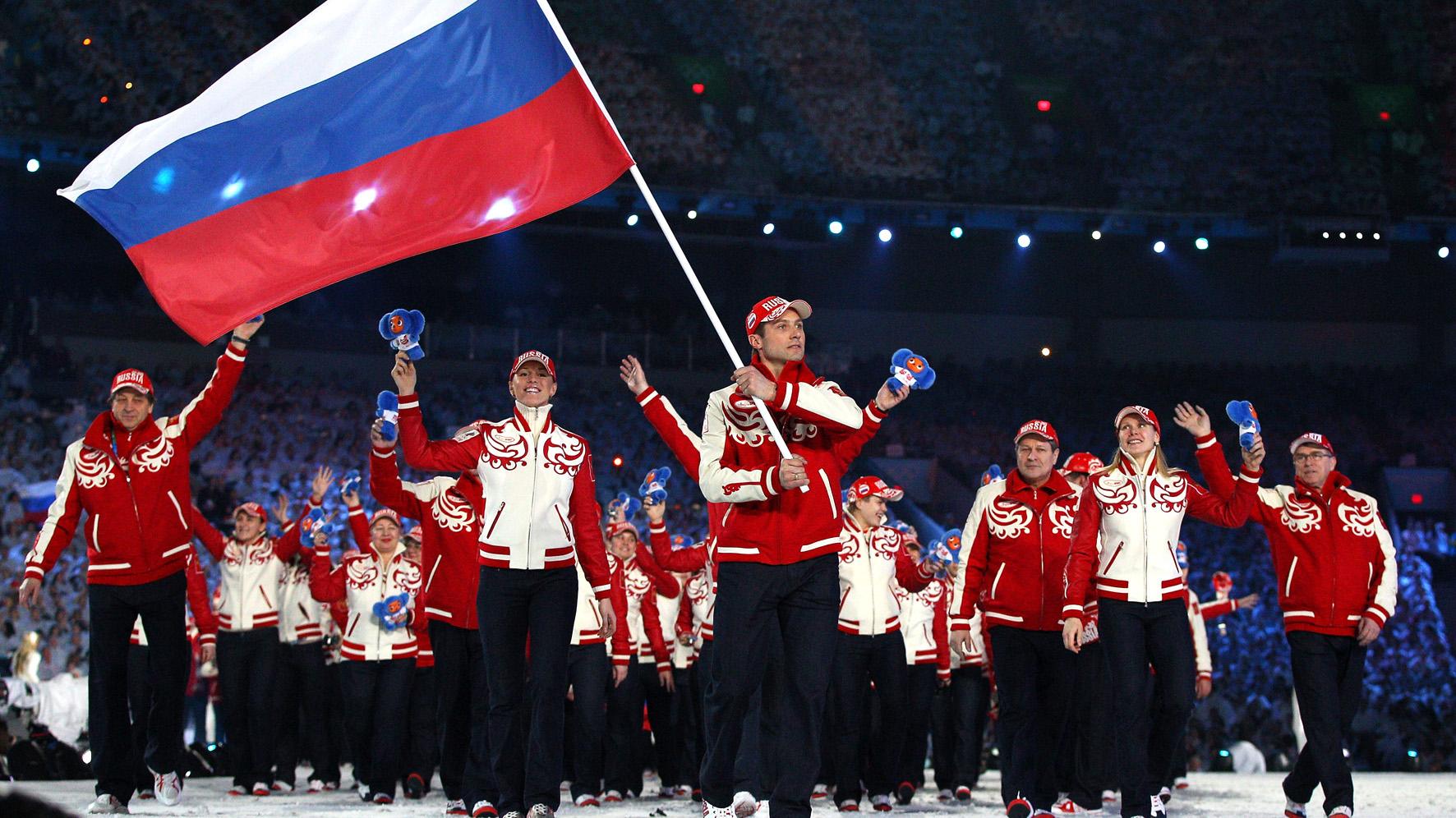 Россия хочет на Олимпиаду