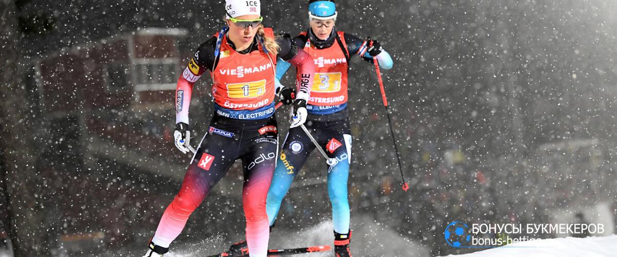 третий и четвертый этапы Кубка мира по биатлону