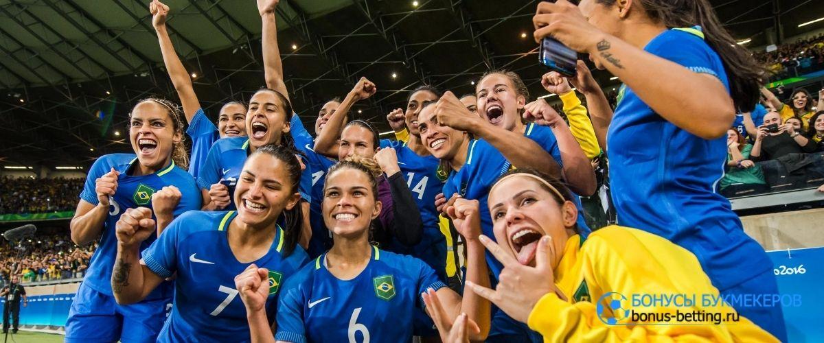 Дети обыграли женскую сборную Бразилии