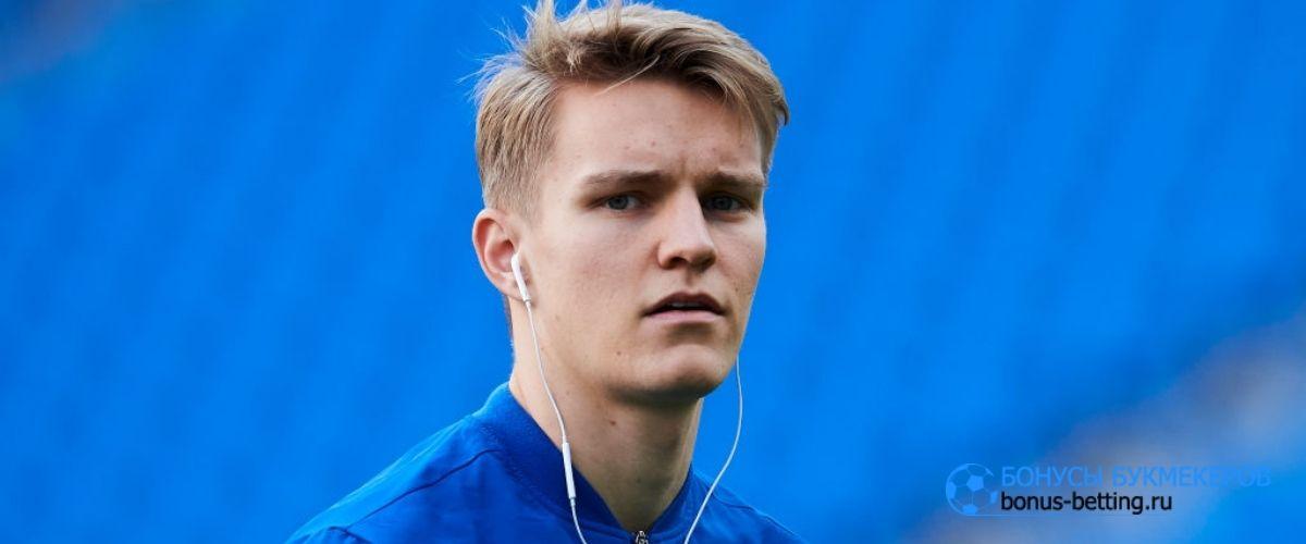 Мартин Эдегор перешел в Арсенал