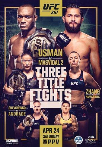 постер UFC 261