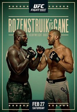 UFC: Розенструк-Ган