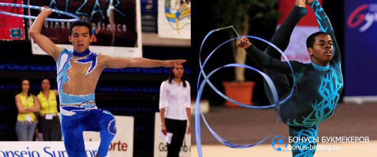 Мужская художественная гимнастика испания