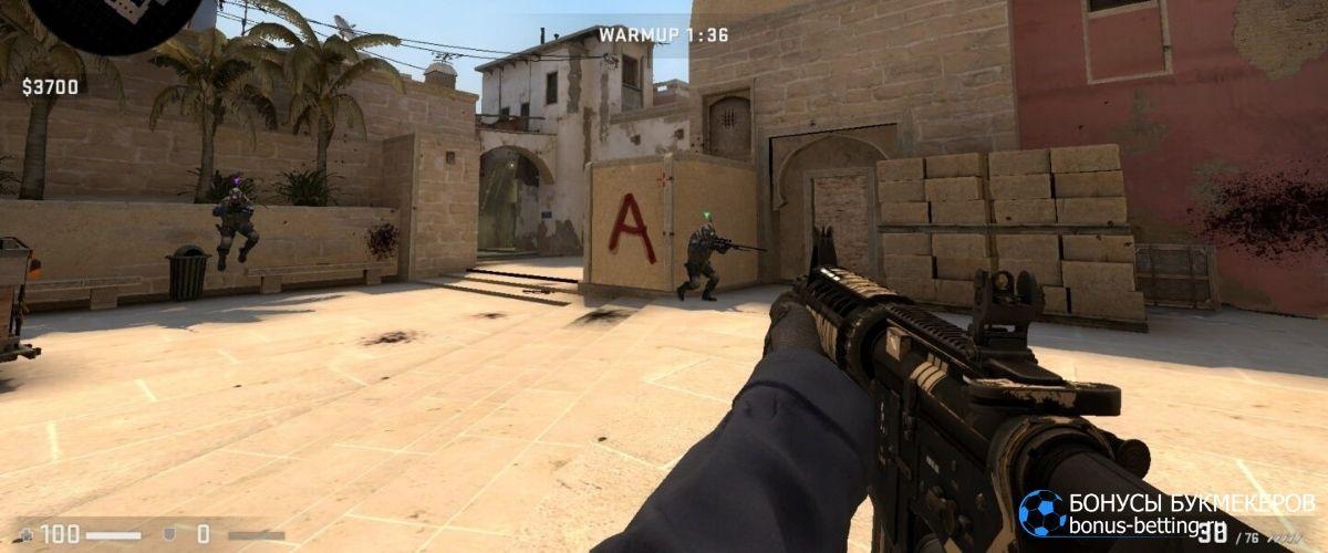 CS: GO: стратегия ставок 1xBet