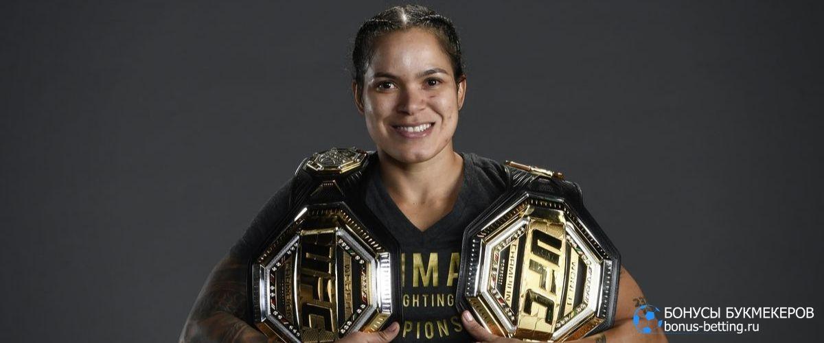 Рейтинг UFC 2021 легчайший вес женщины