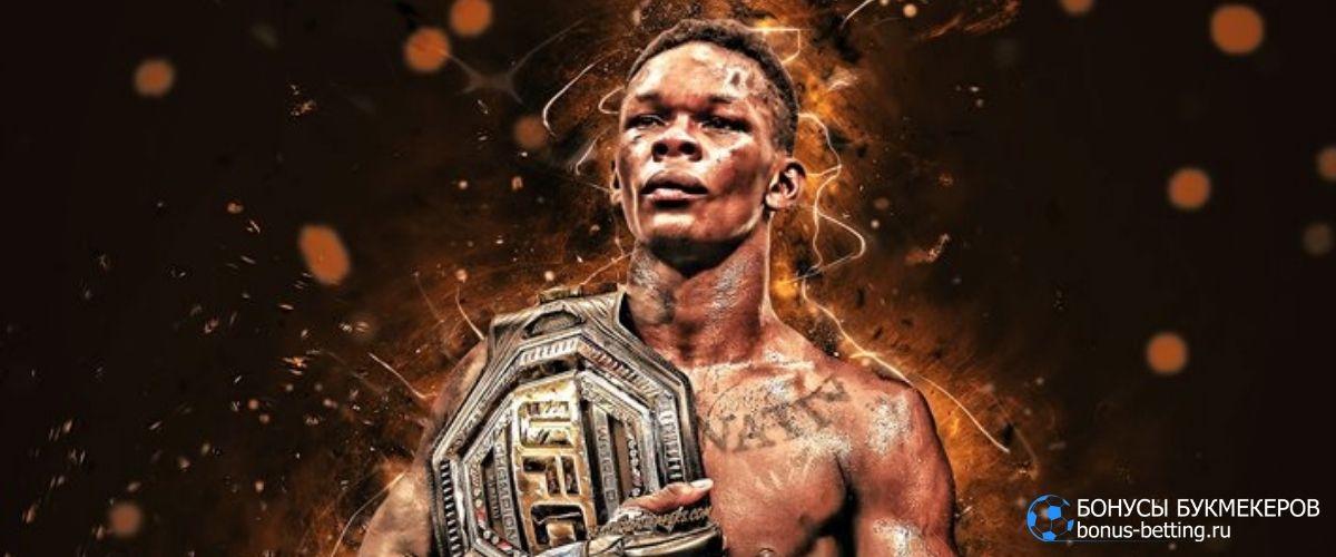 Рейтинг UFC 2021 средний вес мужчины