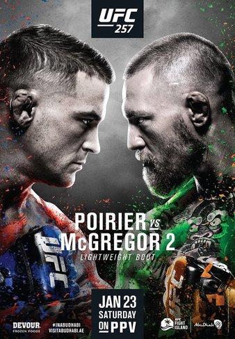UFC 257 Пуарье vs Макгрегор 2