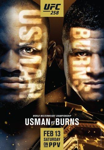 UFC 258 Усман vs Бернс
