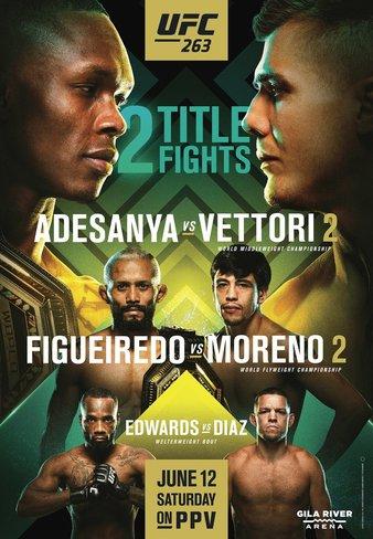 UFC 263 Adesanya - Vettori 2