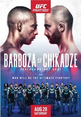 UFC Barboza-Chikadze