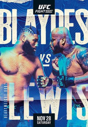 UFC Fight Night Блейдс vs Льюис