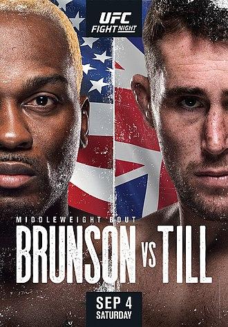 UFC Fight Night Brunson-Till