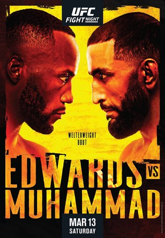 UFC Fight Night Edwards vs Muhammad