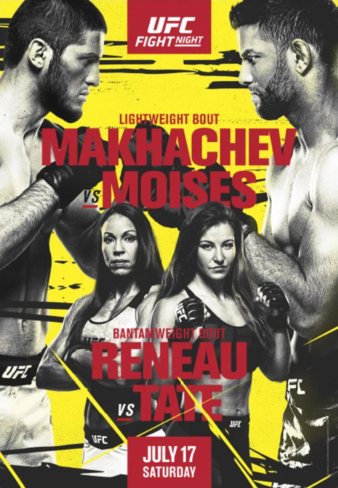 UFC Fight Night Makhachev - Moises