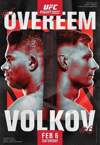 UFC Fight Night Оверим vs Волков