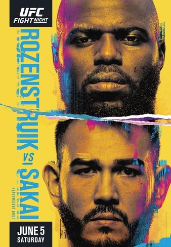 UFC Fight Night Rozenstruik - Sakai