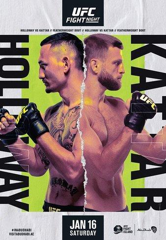 UFC on ABC Холлоуэй vs Каттар