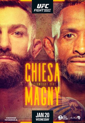UFC on ESPN Кьеза vs Магни