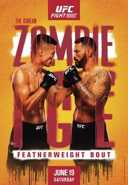 UFC on ESPN The Korean Zombie vs Ige