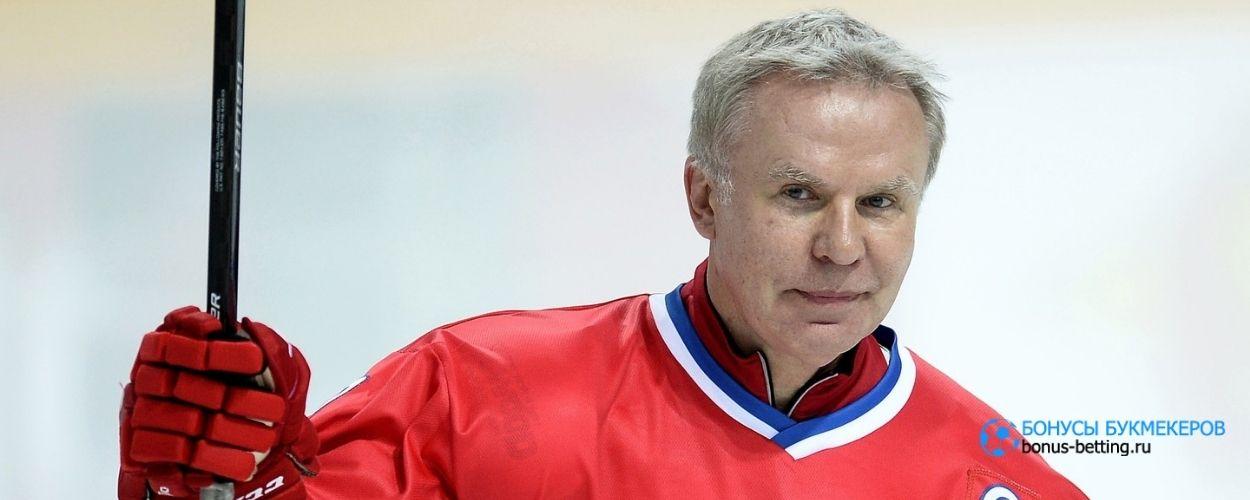 Фетисов предложил провести матч звезд