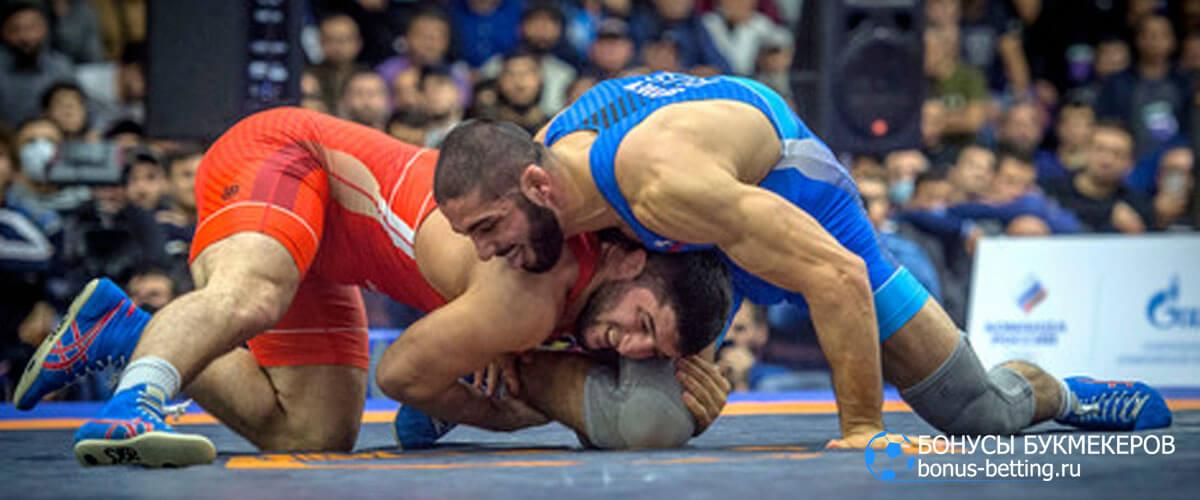 Чемпионат России по вольной борьбе 2021 расписание