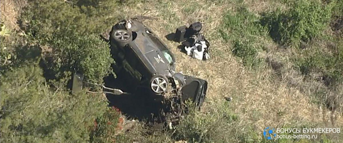 Тайгер Вудс попал в аварию в Лос-Анджелесе