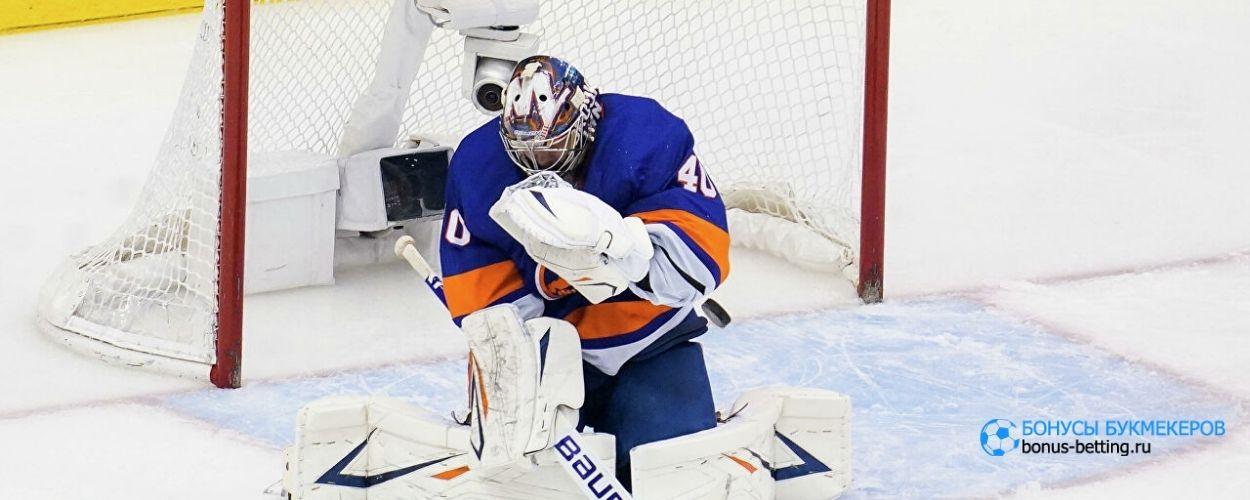 Варламов сыграл 500-й матч в НХЛ