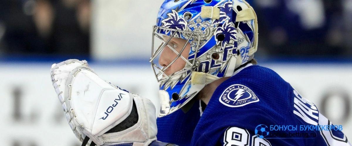 Василевский стал 1-й звездой матча