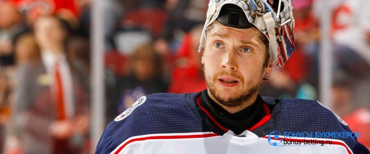 Бобровский снова блеснул в НХЛ