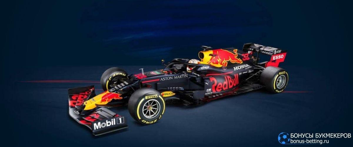Болидыформулы-12021: Red Bull RB16B