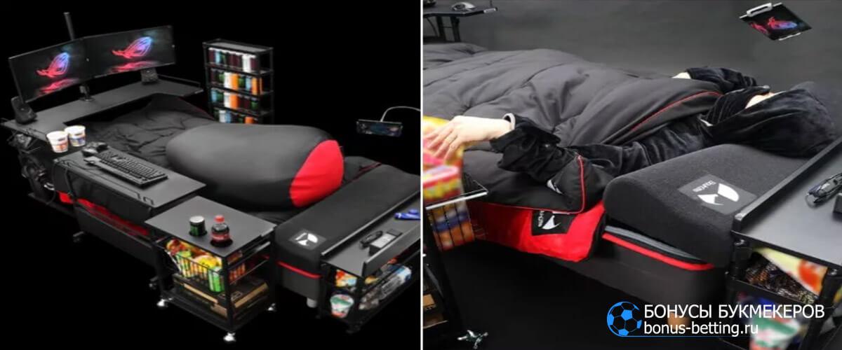 кровать-трансформер для геймеров