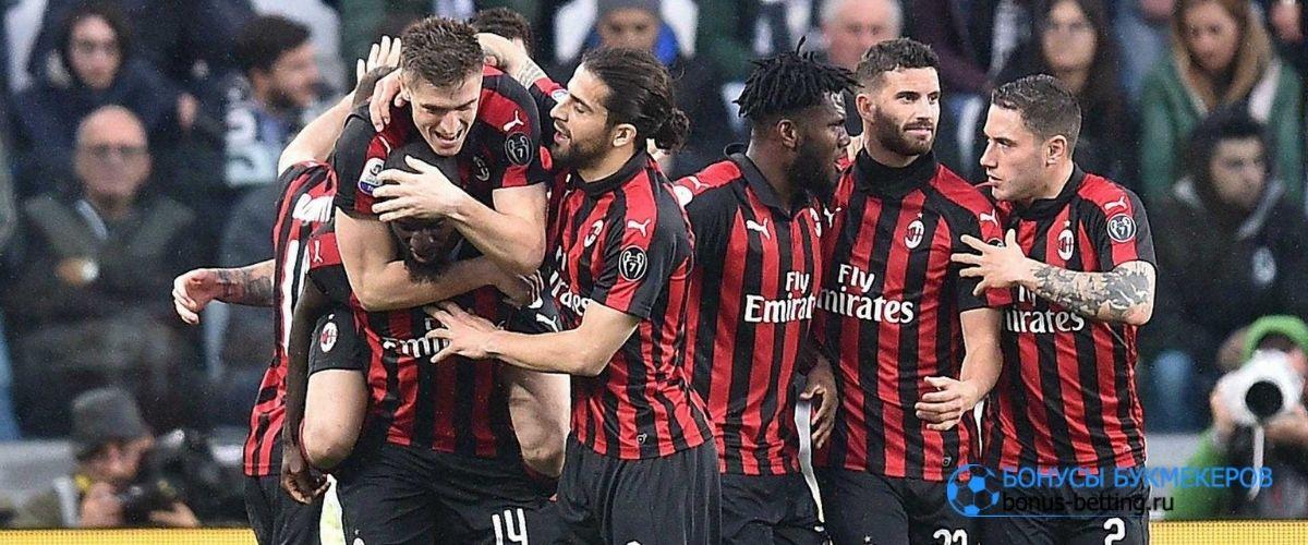 Милан вырвал ничью