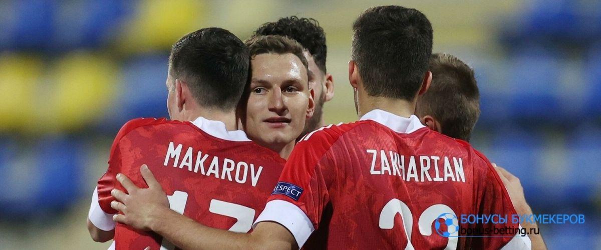 Молодежная сборная России разгромила исландцев