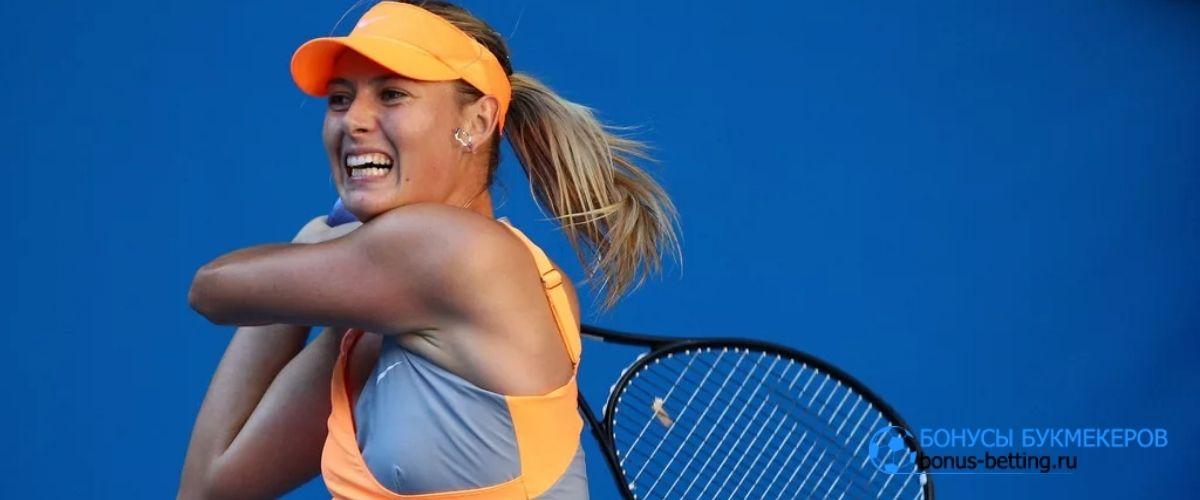 Шарапова не считает себя теннисисткой