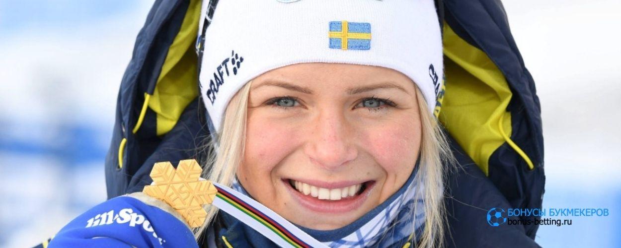 Шведка взяла бронзу с травмой