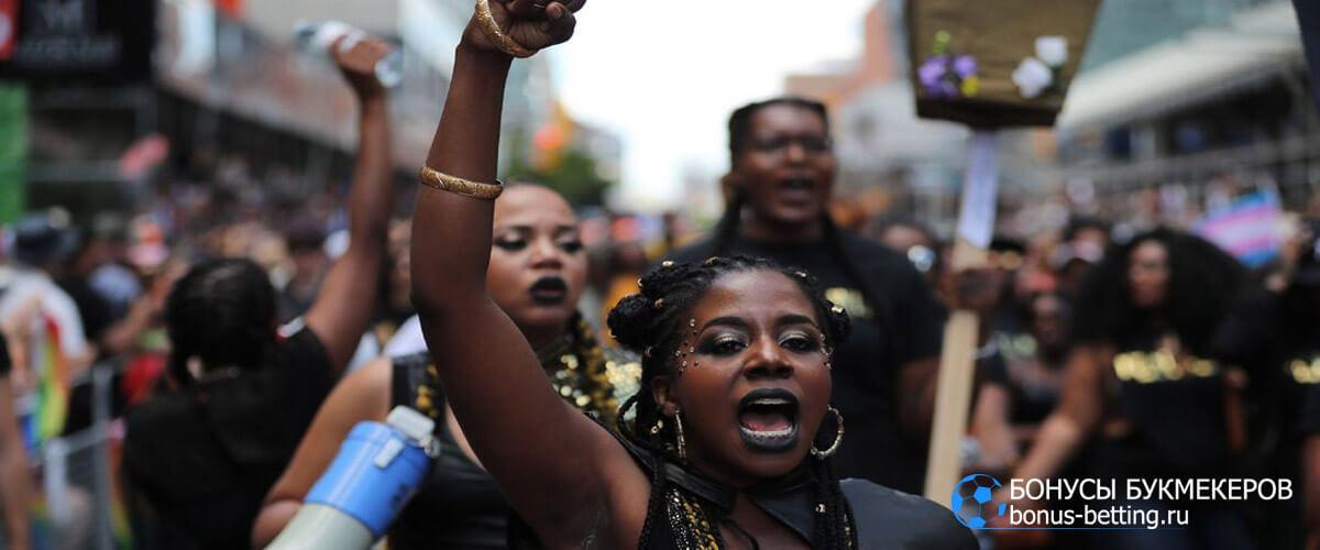 Акции Black Lives Matter попали под запрет на Олимпиаде