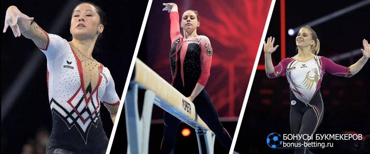 сборная германии по гимнастике комбинезоны