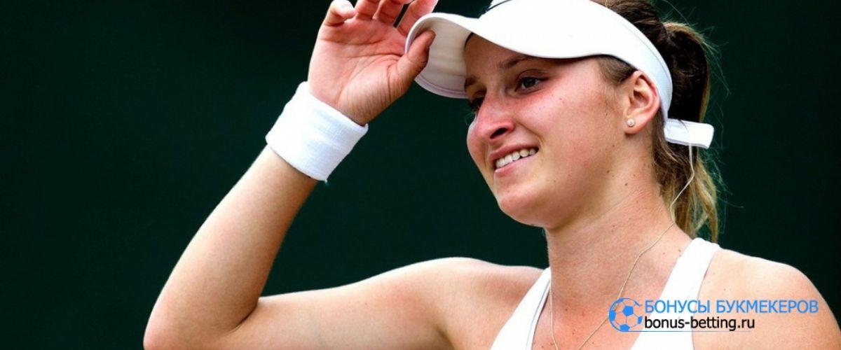 Маркета Вондроушова снялась с турнира в Чарльстоне
