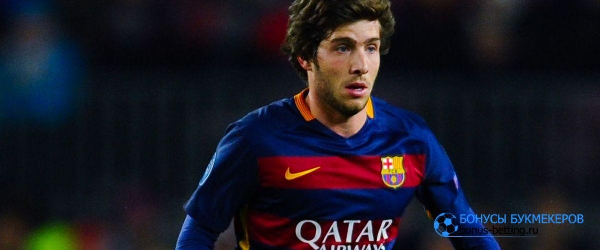 Серхи Роберто провел 300 матчей за Барселону