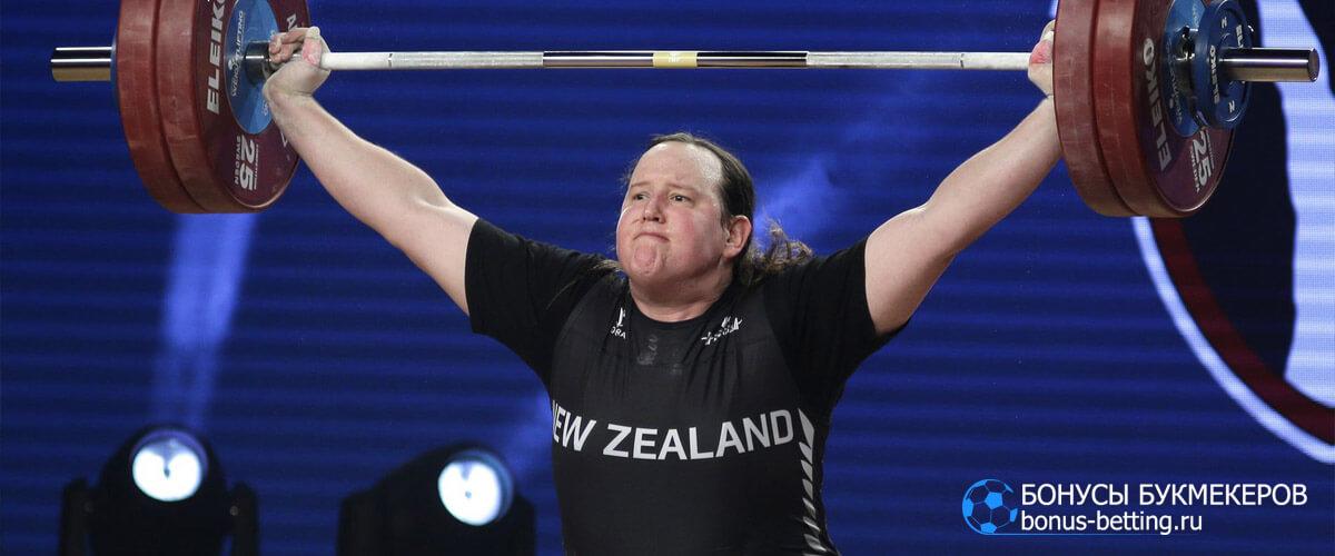 Лорел Хаббарт тяжелая атлетика