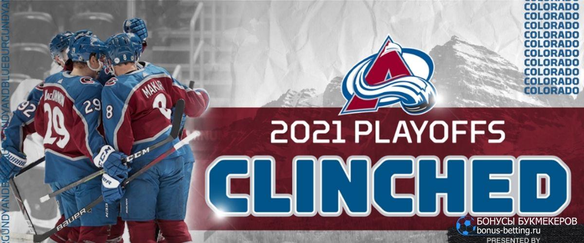 Колорадо лидер НХЛ плей-офф 2021