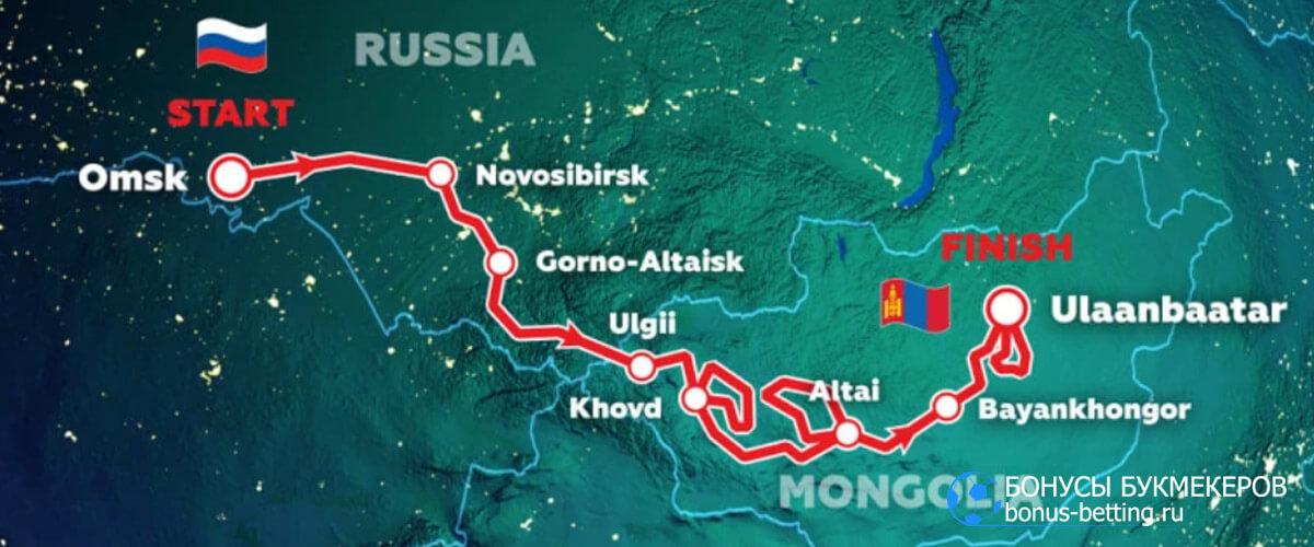 Шелковый путь 2021 маршрут карта